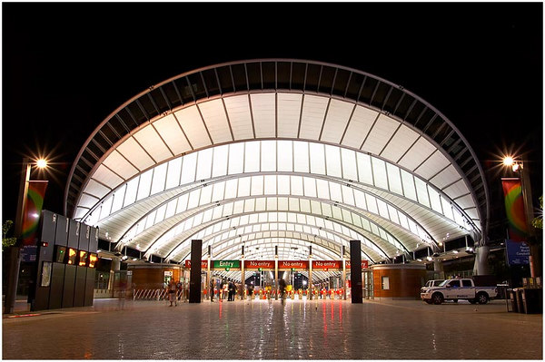 Sydney Olympic Park Homebush Monday 15th January 2007 Railway Station Is Designed To Handle Up 50000 People An Hour And Provides A